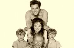 """Publicity photo for """"Follow That Dream,"""" one of Elvis's best movies. Seriously, it's so funny!  Elvis is adorable in it."""
