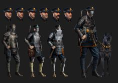 3D Character model created for Evozon Game Studio Steampunk project. Concept created by 2D Concept Artist Vlad Ricean: https://www.artstation.com/artist/vladracean 3D Model created by 3D Character Artist Tudor Fat:  https://www.artstation.com/artist/tudorfat