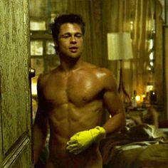 Brad Pitt... Fight Club! - Yumm