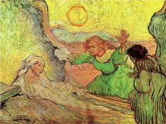 Lázár feltámasztása után Rembrandt - Vincent van Gogh