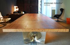 Wood Table Estevao Toledo