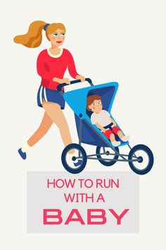 Running, whether solo or with a stroller, is great for my mental health, especially now that I'm able to run again postpartum. Plus, it really is so efficient to get a workout in and get us both some time outside by taking him in the stroller so it's worth sorting through all the logistics. I'm sharing my tips for how to run with a baby because as you can imagine or already know, running with a baby and a stroller is very different. Running Guide, Running For Beginners, How To Start Running, How To Run Faster, Beginner Half Marathon Training, Half Marathon Tips, Half Marathon Motivation, Running Trainers, Best Running Shoes