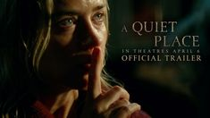 A Quiet Place - Official Trailer - Paramount PicturesThose who have survived live by one rule: never make a sound. Watch the new trailer for starring Emily Blunt and John Krasinski. In thea. John Krasinski, Hd Movies Online, 2018 Movies, Emily Blunt, Movies To Watch, Good Movies, Deaf Movies, Movies Free, Scary Movies