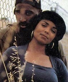 Janet and Pac (via Around The Way Curls)