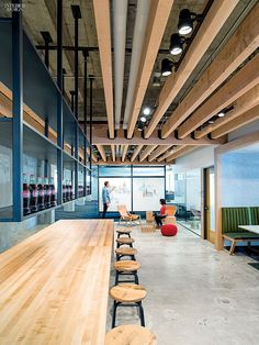2014 BOY Winner: Office Café/Cafeteria | Projects | Interior Design