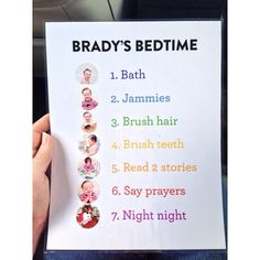 such a great idea if you're having a hard time with the bedtime routine by making it visual for your kids.