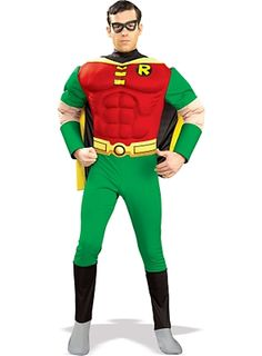Robin Muscle Chest Costume - DC Comics - Superhero Costumes at Escapade  sc 1 st  Pinterest & Mens Deluxe Bane Costume | Halloween | Pinterest | Bane costume and ...