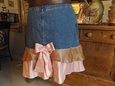 Altered Couture Cowgirl Wedding Square Dancing by MissPoppysFancy