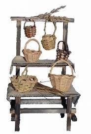 Resultado de imagen para mercados+belenes Tiny Furniture, Ceramic Houses, Barbie Accessories, Christmas Nativity, Decorative Tile, Shabby Vintage, Miniture Things, Fairy Houses, Diy And Crafts