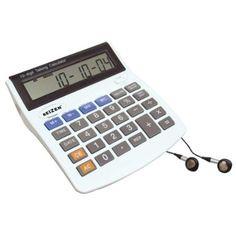 Amazon.com: 10 Digit Talking Calculator Earphone Talking Alarm: Health & Personal Care