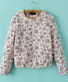 Long Sleeve Floral Jacket