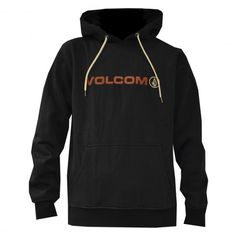 VOLCOM Euro Pullover sweat à capuche black 59€ #volcom #sweatcapuche #hoodie #hoody #hoodies #fleece #hood #skate #skateboard #skateboarding #streetshop #skateshop @PLAY Skateshop