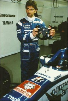 Damon Hill - Formula One World Champion.