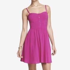 Express Cami Sundress Express Cami Sundress in Radiant Rose. Brand New. Great Summer Dress. Express Dresses Mini