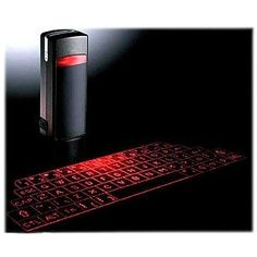 This is a Wireless keyboard with LIGHTS as buttons. How awesome is that?!