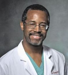 Dr. Ben Carson is the Director of Neurosurgery at Johns Hopkins Hospital.  When he assumed this post at age 32 he was the youngest person to do so in Johns Hopkins history.  Although Dr. Carson has performed many successful surgeries throughout his career, he is probably most famous for being the first surgeon in the world to successfully separate twins conjoined at the back of the head (craniophagus twins).  Dr. Carson lead a 70-member surgical team in the 22 hour successful operation to separa