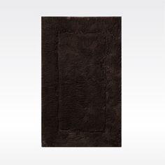 Habidecor 腳踏墊 Must系列-50×80cm -  深咖啡(772)★頂級100%金埃及長纖精梳棉製成。 ★既輕又快乾,具有絕佳吸水力。 ★花版設計,手工製成,作工精密,整體結構紮實緊密不變形。 ★國際知名飯店-紐約 Plaza Hotel御用。