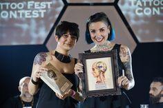 #leccetattoofest - 2nd Lecce Tattoo Fest 2015 - Marianna Bevilacqua 3ˆClassificata Best of the Show!