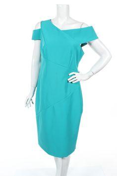 Rochie Ted Baker - la preț avantajos pe Remix - #108527953 Ted Baker, Dress Outfits, Cold Shoulder Dress, Dresses For Work, Clothes For Women, Fashion, Outerwear Women, Moda, Fashion Styles