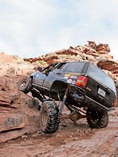 Jeep Grand Cherokee ZJ Coil-overs #Hummer #Humvee #Rvinyl  =========================== http://www.rvinyl.com/Hummer-Accessories.html