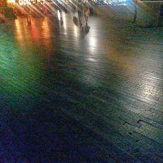 An evening stroll along the South Bank. #southbank #abstractlandscape #london #artistic #contemporaryart #installation #installationart #colourimage #graphic #lightshow #colours #artwork #art #unreal #artistic_nation #clarity #interlock #lightmotion  #artistry #modernart #consider #contexture #impression #observation #colourphotography #natgeocreative #ilovelondon #walkway
