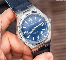 Vacheron Constantin Overseas Uhr In Blau Hands-On  #constantin #hands #overseas #vacheron