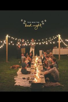Long Tables With Blanket Seating On Either Side At An Outdoor Party/dinner   Rehearsal Dinner