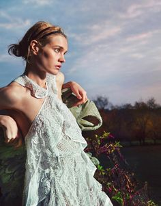 visual optimism; fashion editorials, shows, campaigns & more!: natalia vodianova by ryan mcginley for porter #7 spring 2015