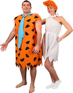 Wilma and Fred Flintstone Costumes for Couples  sc 1 st  Pinterest & COUPLES KING AND QUEEN OF HEARTS ADULT COSTUME Royalty Party Theme ...