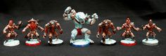 Norse Team with Yeti.... for blood bowl
