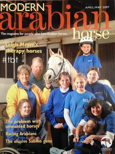 Thanks @Arabian Horse Association for the #TBT. This is the barn I trained at in high school and still do when I'm able to make it back to Chatom, AL! I'm on the cover!!   This weeks #TBT is dedicated to our magazine, Modern Arabian Horse (MAH). It's been 7 wonderful years of producing this magazine and spreading the love of #ArabianHorses to all!