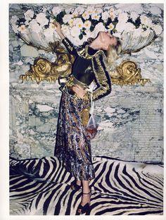 Eva Herzigova by Walter Pfeiffer