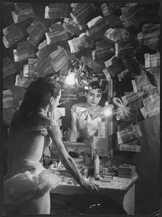 Margot Fonteyn in her dressing room, Paris Photo by Brassai