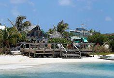 Pete's Pub in Marsh Harbour. Gotta love Caribbean Beach Bars.