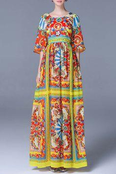 Afrcan Style Evening Dress