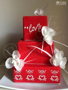 love cake - Cake by @rcake