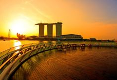 Marina Bay Singapore  is fast becoming the true representation of the immense progress Singapore has made in recent years!