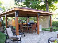 Log cabin lugarde sophia wooden gazebo 2 4 x for Foyer exterieur costco