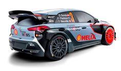 2016 Hyundai i20 WRC Rally car rear three quarter