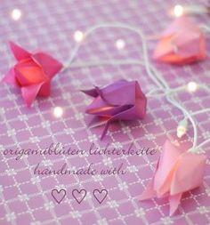 O origami além de lindo, romântico e singelo – é super econômico! Você mesma pode...