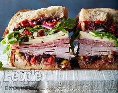No-Cook Recipes: Summer Dinner Ideas for When It's Too Hot to Turn on Your Oven Muffuletta Recipe, Muffuletta Sandwich, Panini Sandwiches, Wrap Sandwiches, Italian Sandwiches, Vegan Sandwiches, Italian Panini, Giada Recipes, Chef Recipes