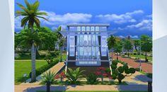 Prohlédněte si tento pozemek v Galerii The Sims 4! - #atypic#villa#modern#luxury#small#pool#jarkad
