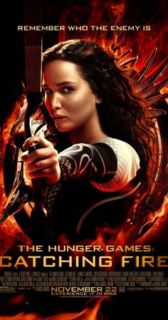The Hunger Games: Catching Fire. Jennifer Lawrence identifies with Katniss Everdeen. The actors of 'The Hunger Games: Catching Fire' visited Spain to promote the film, which opens on November Katniss Everdeen, Katniss Und Peeta, Mockingjay, The Hunger Games, Hunger Games Catching Fire, Hunger Games Trilogy, Hunger Games Poster, Liam Hemsworth, Fire Movie