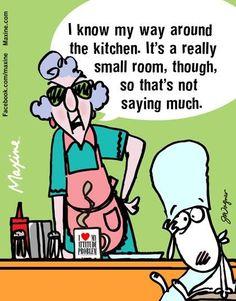 I Know My Way Around The Kitchen