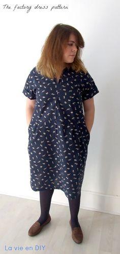 Factory Dress Pattern de Merchant & Mills | La vie en DIY