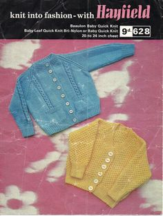 Baby Knitting Pattern Baby Cardigans Toddler cardigans Childs