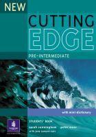 New cutting edge : pre-intermediate / Sarah Cunningham, Peter Moor, Jane Comyns Carr