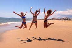 Happy times in Monte Gordo, Portugal