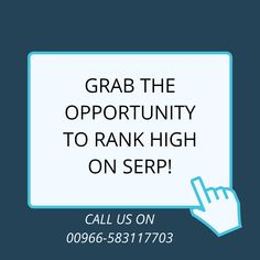Then, get in touch with us. We have a team of experts, who can help you get ranked for your targeted audience. Feel free to call us on Online Marketing, Digital Marketing, Grab The Opportunity, Business Organization, S Mo, A Team, Feelings, Touch, Free
