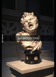 First time I want a sculpture